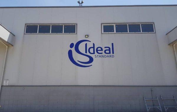"""Външно брандиране на """"Ideal standard"""""""