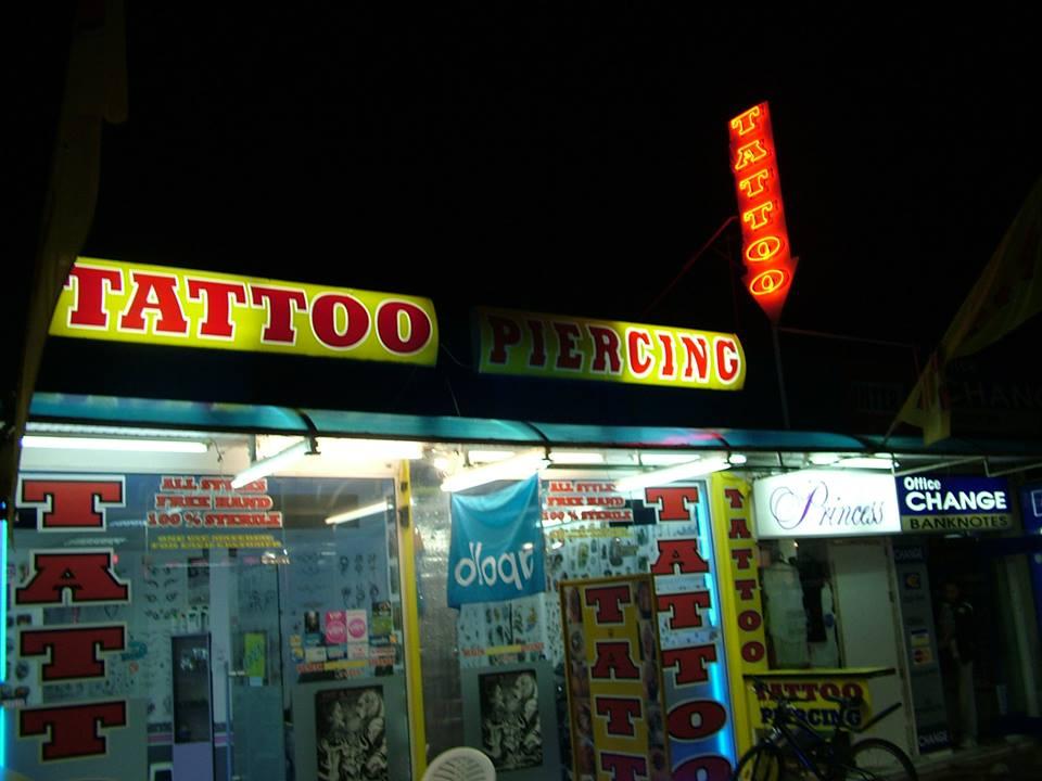 Брандиране на студио за татуировки и пиърсинг