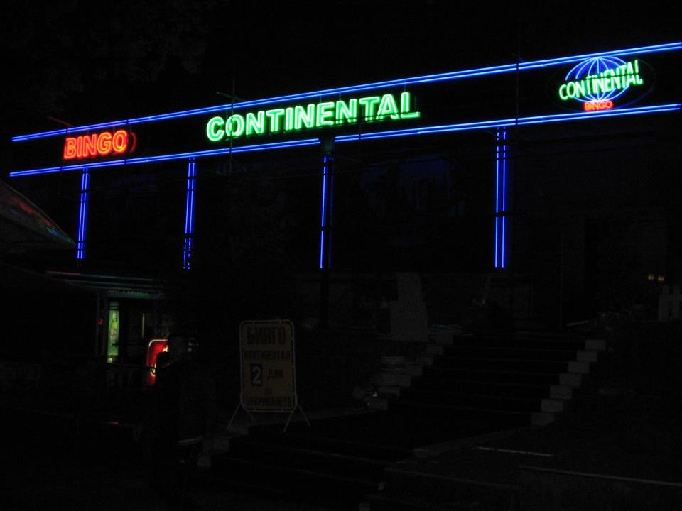 Неонова визия Bingo Continental