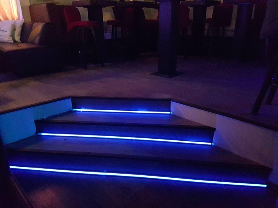 Интериорно осветление на W club Plovdiv