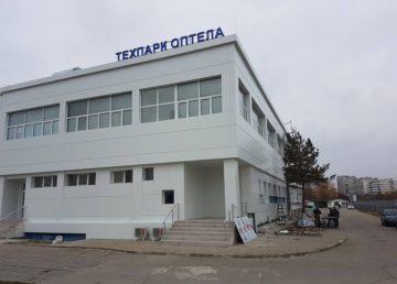 """Обемно лого """"Техпарк оптела"""""""