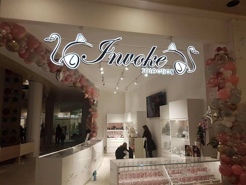 Брандиране на бижутерен магазин