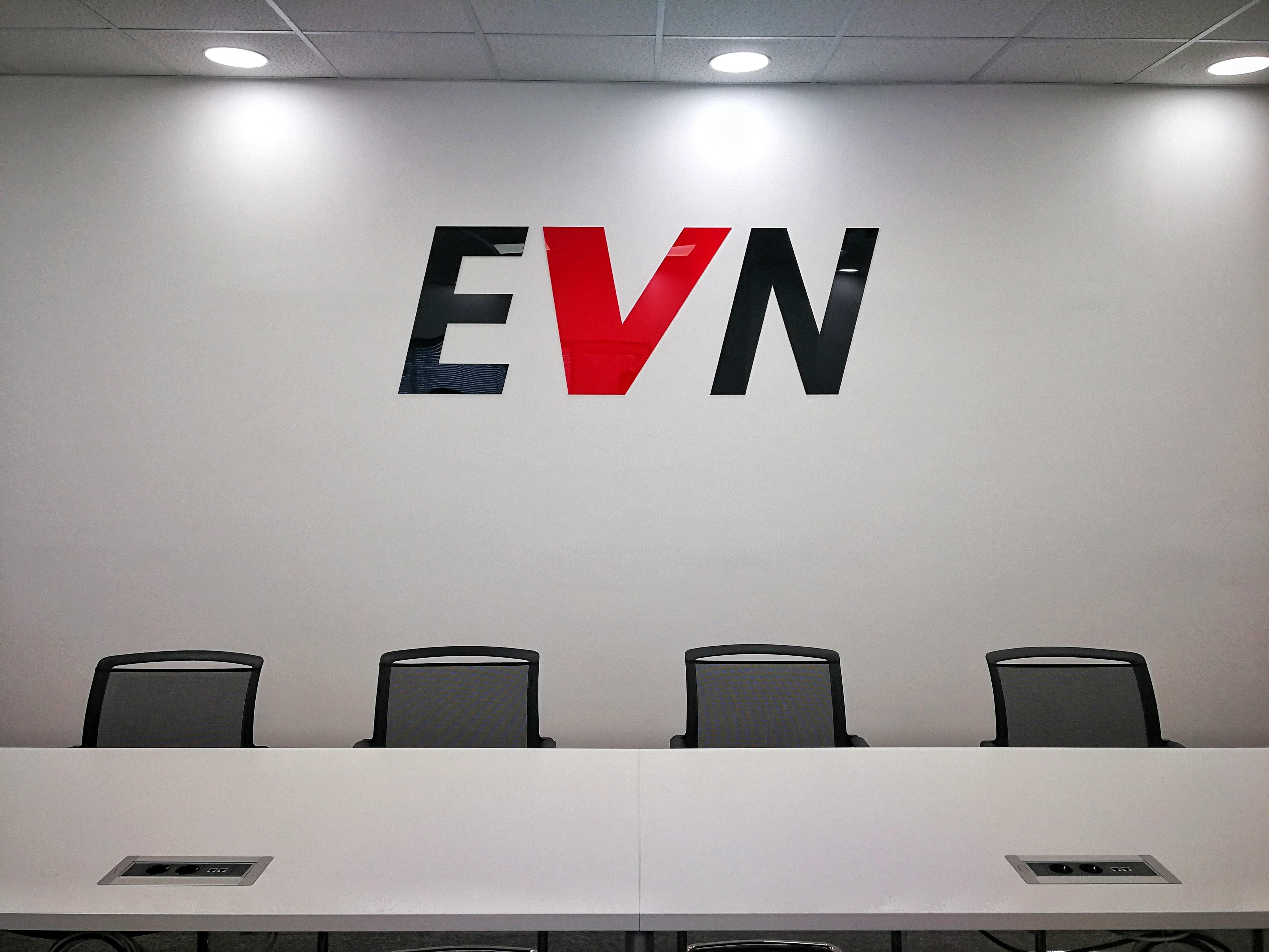 Обемни букви – ЕВН България Електроснабдяване EАД